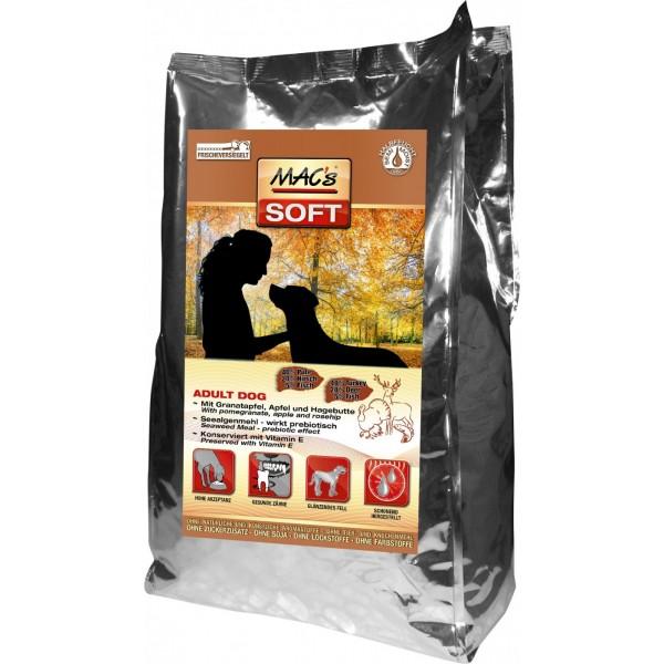 Mac's SOFT ADULT TURKEY&DEER - Мека храна с пуешко, еленско и риба