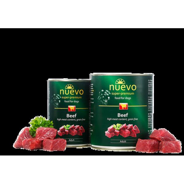 Nuevo Dog Beef - с говеждо месо