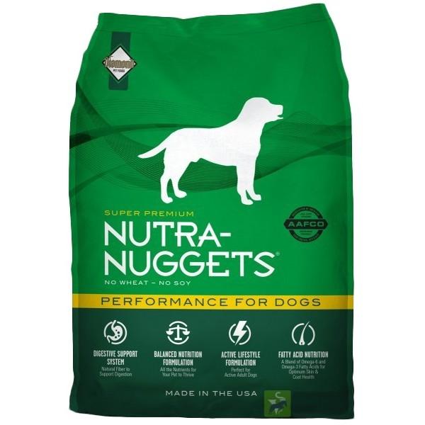 Nutra Nuggets Performance - Пълноценна Храна за Кучета с Умерена Физическа Активност над 1 год.