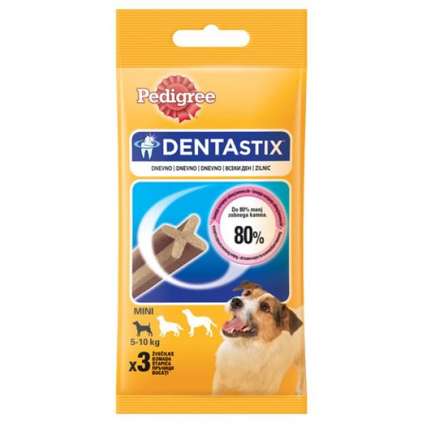 Pedigree Denta Stix Mono - за цялостно почистване на зъбите, подходящ за кучета до 10 кг. 45 гр.