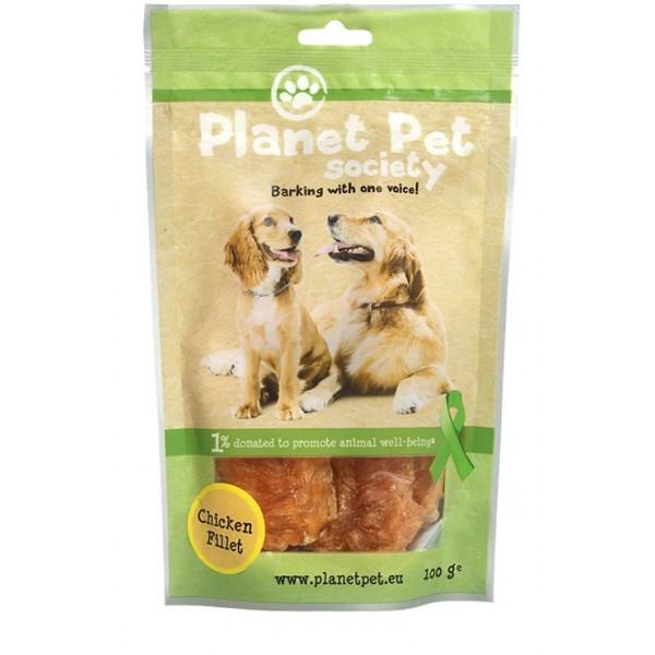 Planet Pet Chicken Fillet - пилешки филенца от прясно месо 100 грама - До изчерпване на количествата