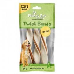 Planet Pet Chicken Twist Bone - Дентално Лакомство за Куче с Пилешко Месо
