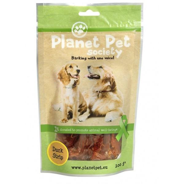 Planet Pet Duck Strip - Лакомство от патешко месо 100 гр.