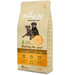 Planet Pet Society Junior Large Breed - суха храна за големи породи кученца - 15 кг.