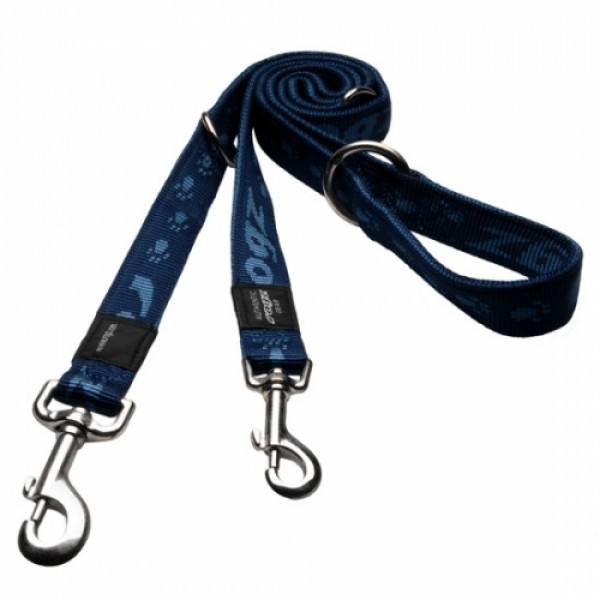 Rogz Alpinist Multi Lead - Rogz Каишка за кучета с 2 карабини