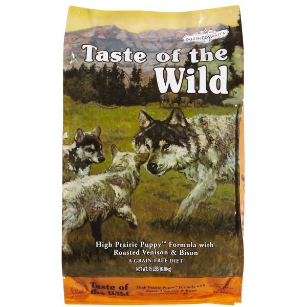 Taste Of The Wild Puppy Храна за Кучета с Елен и Бизон за Подрастващи Кучета
