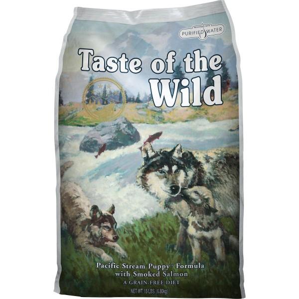 Taste Of The Wild Puppy Храна за Кучета със Сьомга за Подрастващи Кучета