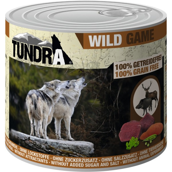 Tundra Wild 100% GRAIN FREE - Консерва с дивечово месо