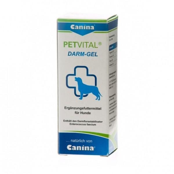 Canina Petvital Darm- Gel - регулира и стабилизира чревната флора по биологичен начин 25 мл.