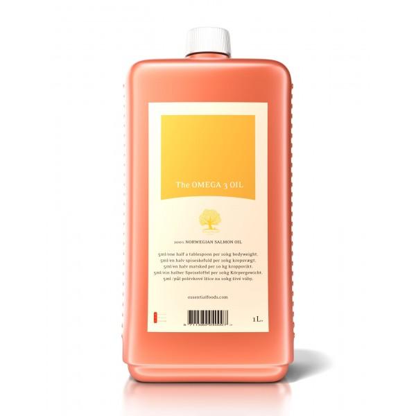 Essential Foods Omega 3 Oil Олио Омега 3 - 1 л.