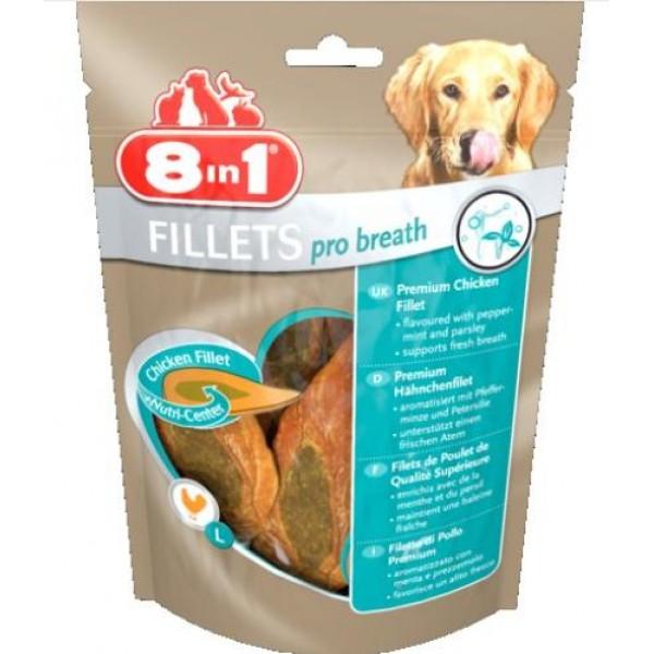 8 in 1 - лакомство за кучета, филенца Pro Breath S