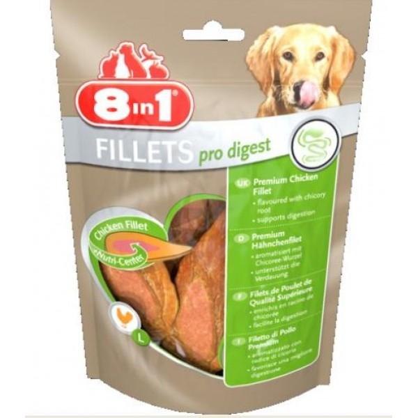 8 in 1 - лакомство за кучета, филенца Pro Digest S