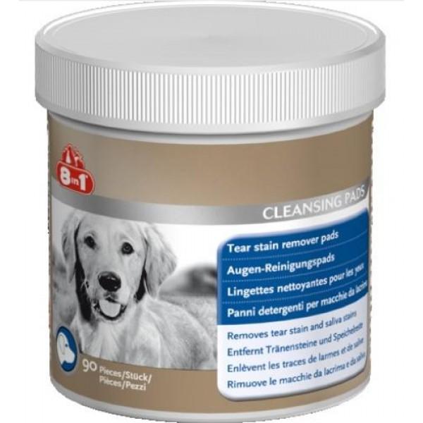 8 in 1 - тампони за кучета за почистване на сълзи 90бр.