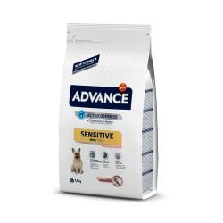 Advance Dog Mini Adult SENSITIVE Храна за Чувствителни Мини Кучета Над 1 год.