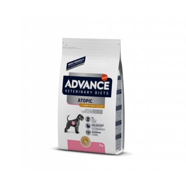 Advance Dog VET DIETS Atopic - Адванс храна за кучета с проблемна кожа 3 кг.
