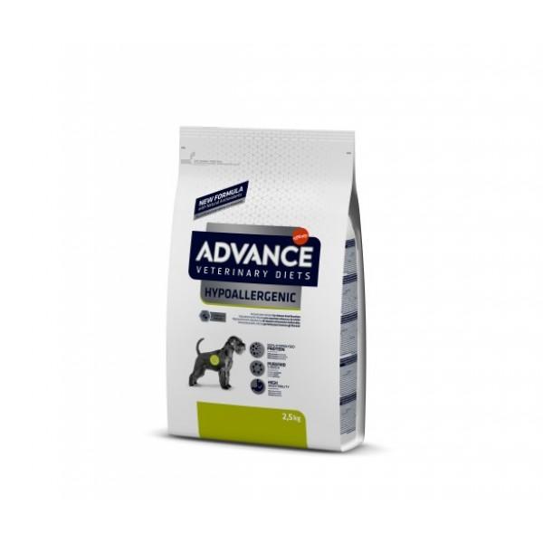 Advance Dog VET DIETS HYPOALLERGENIC - Адванс Лечебна хипоалергенна храна за кучета 2.5кг