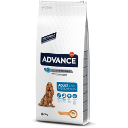 Advance Dog Medium Adult Храна за Средни Породи Кучета Над 1 год.
