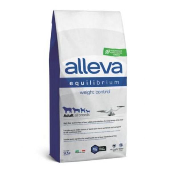 Alleva® Equilibrium (Adult All Breeds) Weight Control 12 кг - Пълноценна храна за кучета от всички породи