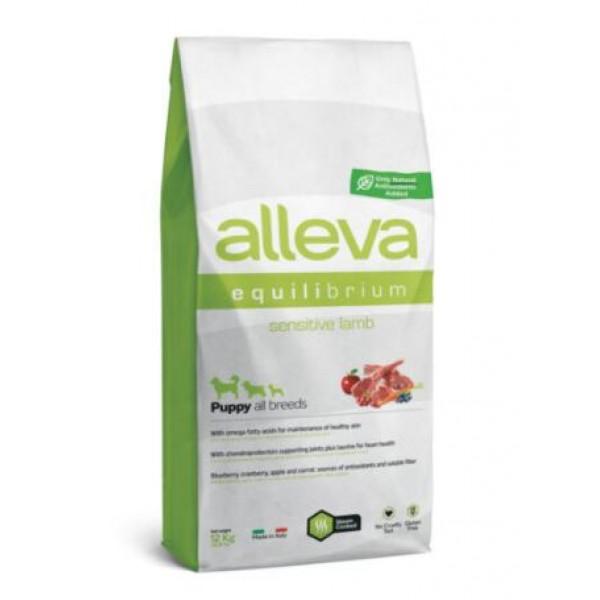 Alleva® Equilibrium Sensitive Lamb (Puppy All Breeds)  - Пълноценна храна за кучета от всички породи