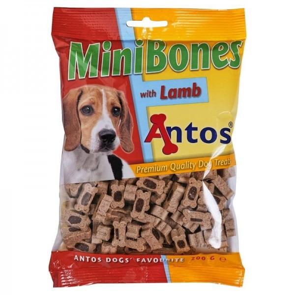 Antos MiniBones - лакомство мини кокалчета с агне, 200 гр
