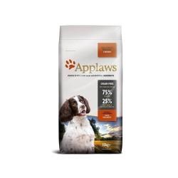 Applaws Adult Small Medium Breed Chicken  - Суха Храна за Кучета от Малките и Средни Породи, 75% пиле