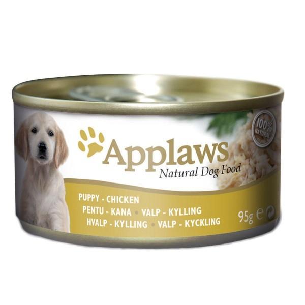 Applaws Puppy chicken breast - месни хапки с пилешко филе за подрастващи кученца до 1 година