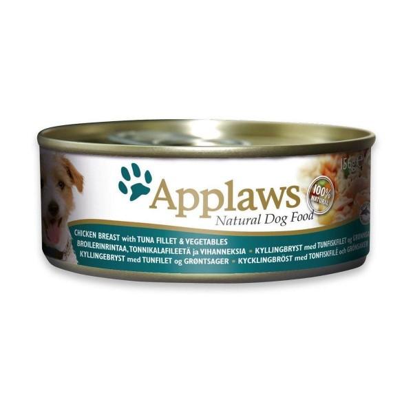 Applaws Chicken, Salmon & Vegetable - Месни хапки с пилешко филе, сьомга и зеленчуци за кучета