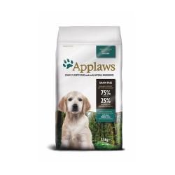 Applaws Puppy Small Medium Breed with Chicken - Аплаус Суха Храна за Растящи Кученца от Малки и Средни Породи, с 75% пиле