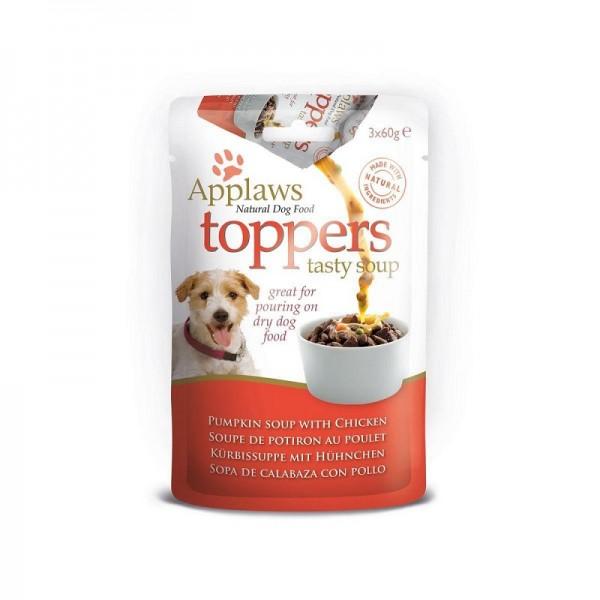 Applaws Dog Toppers Soup Пауч-Овкусител с пиле и тиква за кучета