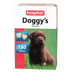 Beaphar Хранителна добавка за кученца със сърчица с Biotin , 150бр., 12бр. в стек