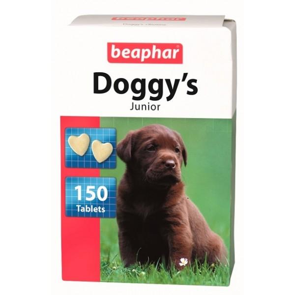 Beaphar Хранителна добавка за кученца със сърчица с Biotin , 150бр.