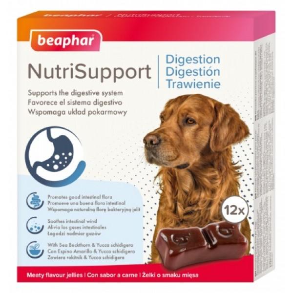 Beaphar NutriSupport Digestion Dog - Желирани капсули за кучета за добро храносмилане 12 х 10 гр.