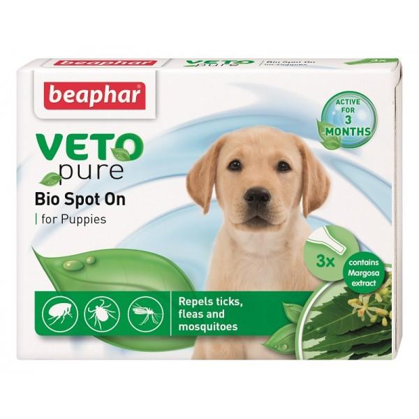 Beaphar Veto Pure Bio Spot On Puppy - капки за малки кученца