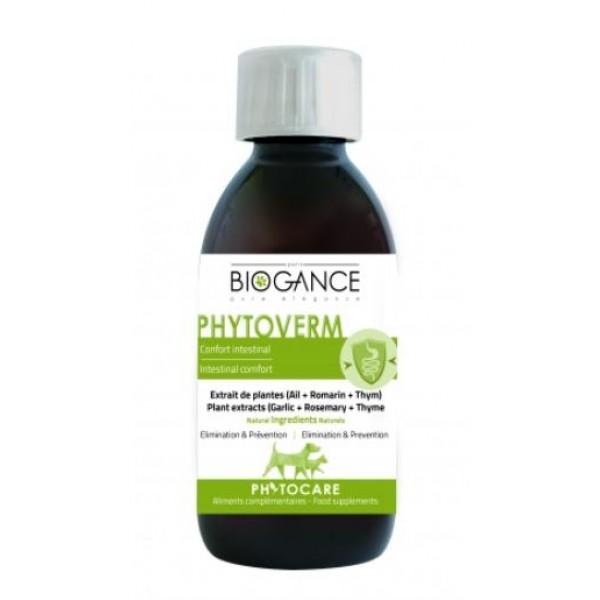 Biogance PHYTOCARE VERM - хранителна добавка за подобрение на стомаха и черния дроб на кучетата
