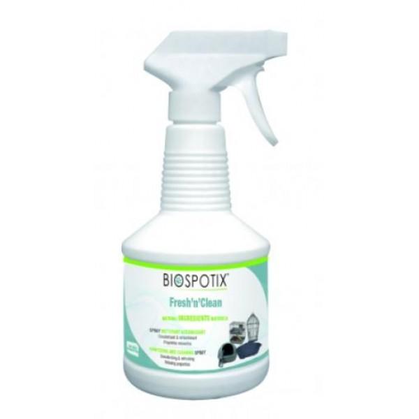 Biogance SPRAY FRESH N CLEAN - дезинфекциращ спрей за средата, която обитават кучетата