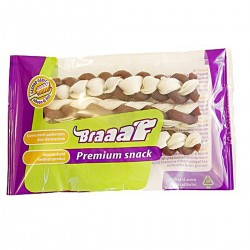 Braaaf Twister Braid Double Дентално Лакомство 80 гр.