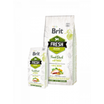 Brit Fresh Duck with Millet Adult Run & Work - Холистична храна за активни кучета над 1 година