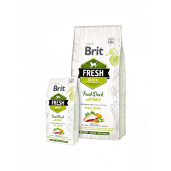 Brit Fresh Duck with Millet Adult Run & Work - Холистична храна за активни кучета над 1 година
