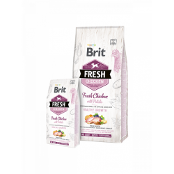 Brit Fresh Chicken with Potato Puppy Healthy Growth - Холистична храна за кученца 1–12 месеца с прясно пиле и картофи