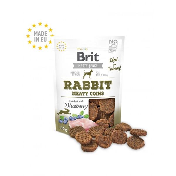 Brit Jerky Snack - протеинов бар със заешко месо за кучета