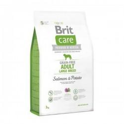Brit Care Grain-free Adult Large Salmon & Potato - храна за възрастни кучета от големите породи (над 25 килограма) със сьомга и картофи
