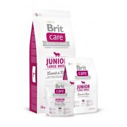 Brit Care Junior Large Breed Lamb and Rice - Брит Суха Храна за Подрастващи Кучета от Едри Породи с Агнешко и Ориз