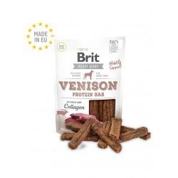 Brit Jerky Snack - протеинов бар с еленско месо за кучета