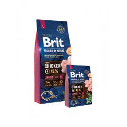 Brit Premium Junior L Puppy - Брит Премиум Храна за Подрастващи Кучета от Големи Породи