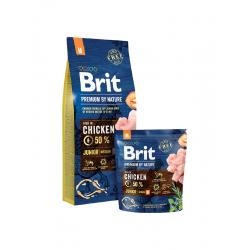 Brit Premium Junior M - Брит Премиум Храна за Подрастващи Кученца от Средно големи Породи