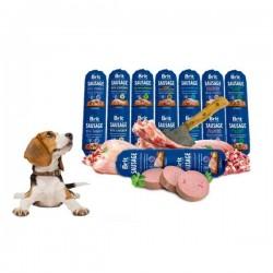 Brit Premium Sausage - Салам за Кучета Брит с 95% Месо