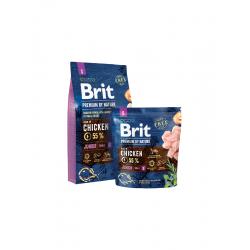 Brit Premium Junior S -Брит Премиум Храна за Подрастващи Кученца и Бебета отМалки Породи