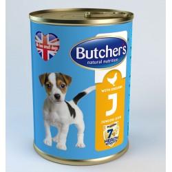 Butcher's Life Junior with chicken - с пилешко месо, за кученца от 1 до 6 месечна възраст