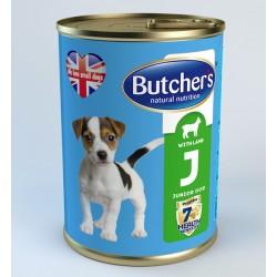 Butcher's Life Junior with lamb - с агнешко месо, за кученца от 1 до 6 месечна възраст 400 гр.