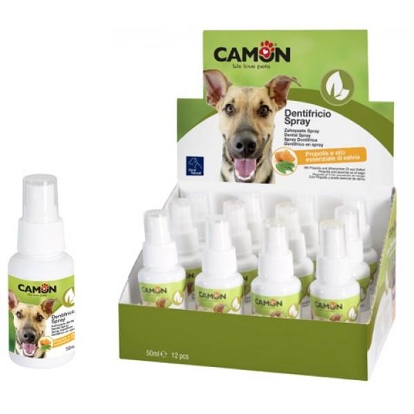 Camon OrmeNaturali - Камон Спрей за Кучета Против Зъбна Плака